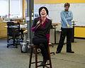Sue Gardner during a staff meeting in April 2013.jpg