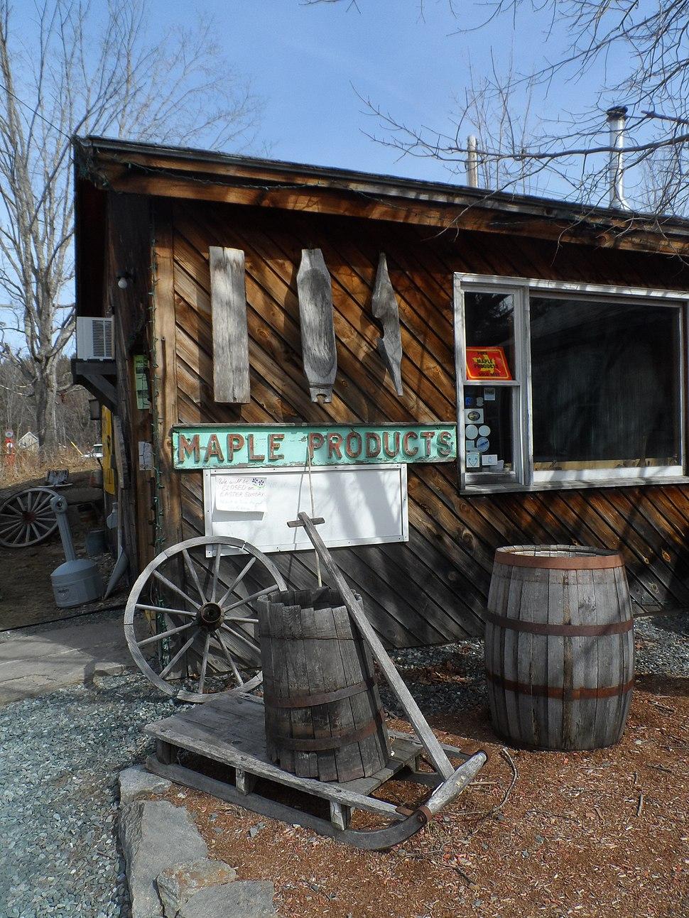 Sugar shack in Thornton