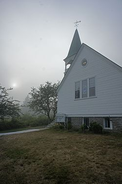 Church in Islesford, Maine