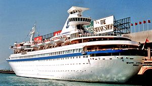 Royal Caribbean International - Royal Caribbean's third ship, Sun Viking.