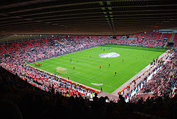 Le Stadium of Light du Sunderland avant le derby contre Newcastle