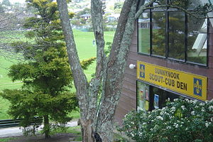 Sunnynook, New Zealand - Image: Sunnynook Scout Den