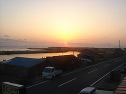 Sunrise in Ōma