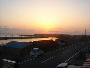Ōma, Aomori - Sunrise in Ōma