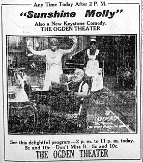 <i>Sunshine Molly</i> 1915 film by Phillips Smalley