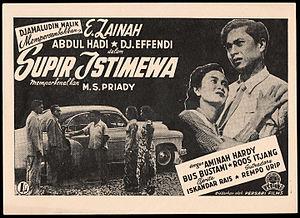 Supir Istimewa - Promotional flyer