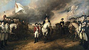 Surrender of Lord Cornwallis (cropped)
