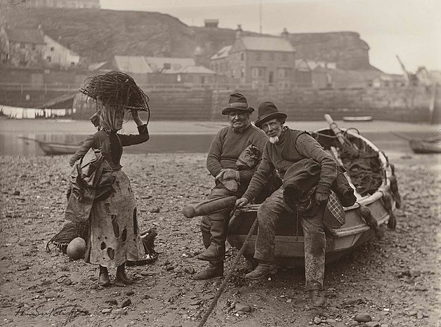 Fisher people, c. 1889-90, Whitby, England Sutcliff35.jpg