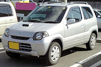 Suzuki Kei - Image: Suzuki Kei 1998 3door