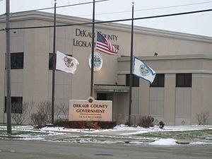 DeKalb County, Illinois - Image: Sycamore Dek cty gov leg center