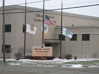 DeKalb County, Illinois - Image: Sycamore Dek cty gov leg center