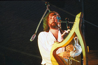 """Symphonie Celtique - Alan Stivell with his """"Celtic Symphony"""" in Lorient in 1980"""