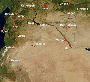 Harran - Harran and other major cities of ancient Syria