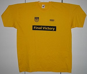 Karin Spaink - T-shirt commemorating the legal victory against Scientology.