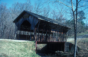 Jefferson County, Alabama - Tannehill Valley Covered Bridge near McCalla.