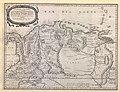 TERRE FERME. ou sont les GOVERNATIONS, ou GOUVERNEMENS de TERRE FERME, CARTAGENE, ste MARTHE, RIO DE LA HACHE, VENEZUELA, NOUVELLE ANDALUSIE, POPAYAN,... , &c - Nicolas Sanson, 1656 - BL Maps K.Top.124.18 (BLL01018640920).jpg