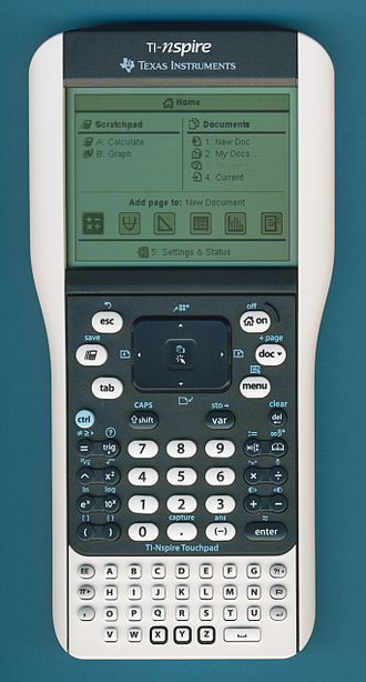TI-Nspire series - Image: TI Nspire Touchpad
