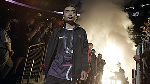 Newbee - Newbee at The International 2014, with Xiao8 in the foreground.