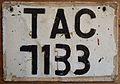 TRINIDAD and TOBAGO, 1990's -RENUMBERED LICENSE PLATE - Flickr - woody1778a.jpg