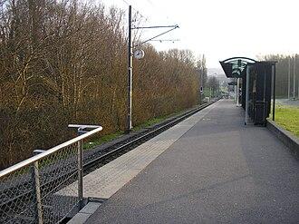 Lausanne Metro - Image: TSOL M1 UNIL Sorge
