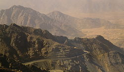 Sarawat Mountains in Ta'if