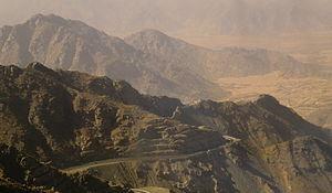 Sarawat Mountains - Image: Ta'if Mountains 2011