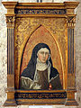 Taddeo di bartolo, santa chiara, xv secolo, da s. francesco al prato.JPG