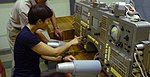 "Taking a look at the training control panel of the ""old"" Soyuz TM (6492121087).jpg"