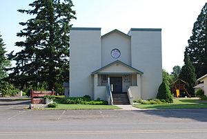 Talbot, Oregon - Image: Talbot Church Oregon