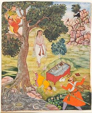 Kathasaritsagara - Image: Tale of the Cunning Siddhikari