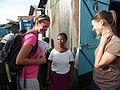 Talking to wonderful Esther who was very proud and happy to own a fresh life toilet (6829161450).jpg