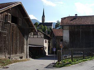 Tamins Place in Graubünden, Switzerland