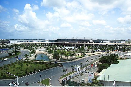 Tan Son Nhat International Airport is the busiest airport in the country. Tan Son Nhat International Airport.jpg