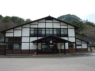 Tanohata Station - Tanohata Station in March 2010
