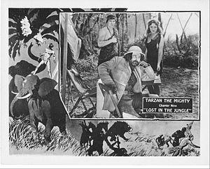 Tarzan the Mighty - Lobby card for Chapter Nine