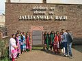 Team Gujarat At jallianwala bagh.jpg