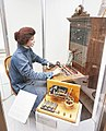 Telephone operator - Strowger selector.jpg