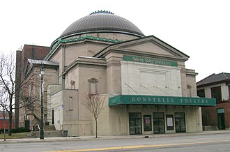 Temple Beth El (Detroit) - 1902-1922 temple at 3424 Woodward Avenue; currently the Bonstelle Theatre.