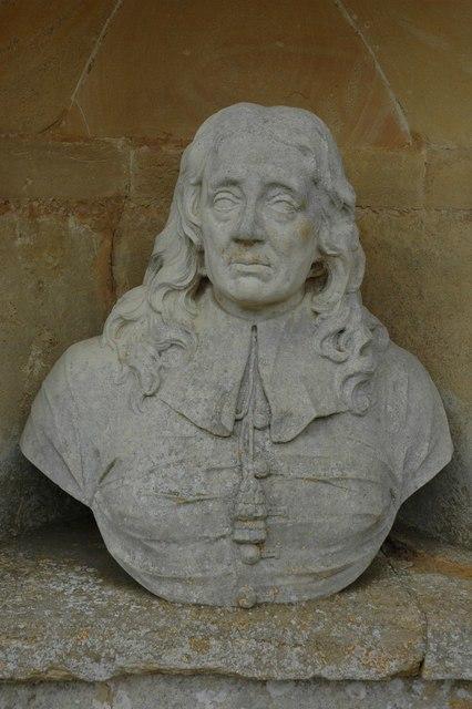 Temple of British Worthies John Milton