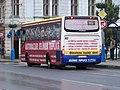 Teplice, Benešovo náměstí, autobus 612, Crossway, Arriva Teplice, linka 145.jpg