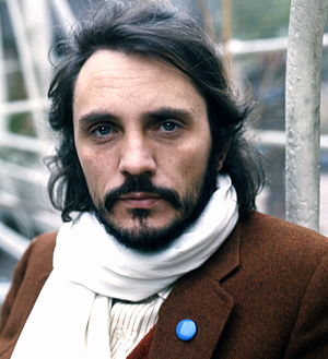 Terence Stamp - Stamp in 1973, photographed by Allan Warren