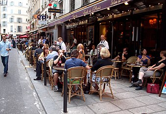 Cafe International Rue De France Nice