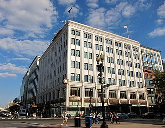Hecht's - Former Hecht's department store located at 7th and F Streets NW in Washington, D.C. from 1924 to the 1980s.