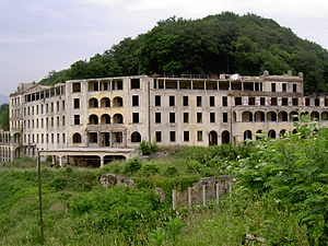 Collina d'Oro - Ruins of the regional sanatorium