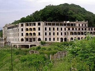Collina d'Oro - Ruins of the regional sanatorium