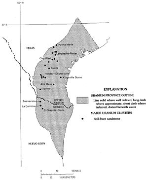 Uranium mining in the United States - South Texas uranium province – USGS.