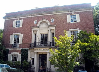Textile Museum (Washington, D.C.) - The former location of The Textile Museum, also known as the Tucker House and Myers House located at 2310-2320 S Street, NW in the Kalorama neighborhood of Washington, D.C. The buildings are listed on the National Register of Historic Places.
