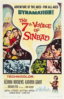 <i>The 7th Voyage of Sinbad</i> 1958 film by Ray Harryhausen, Nathan H. Juran