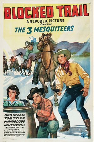 The Blocked Trail - Image: The Blocked Trail Film Poster
