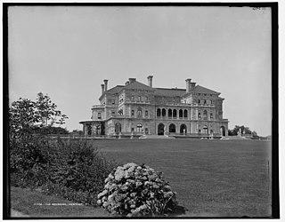 The Breakers Vanderbilt Mansion in Rhode Island, USA